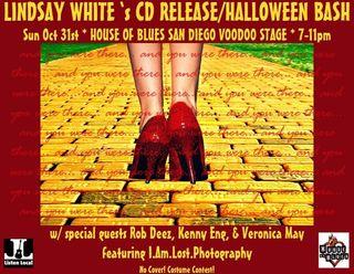 Lindsay cd release