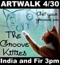 Artwalk kitties