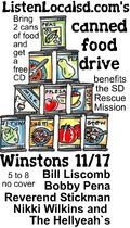 Canned food drive poster