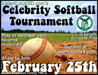 New softball poster