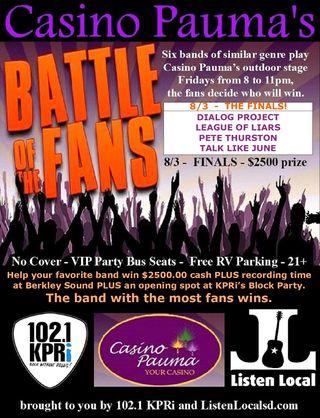 Battle finals