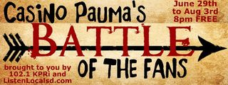 Battle of the fans logo