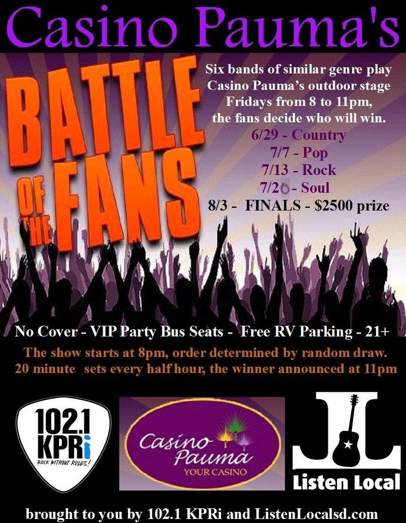 Battle week 1 pre bandfix