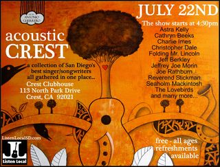 Acoustic Crest July 22nd