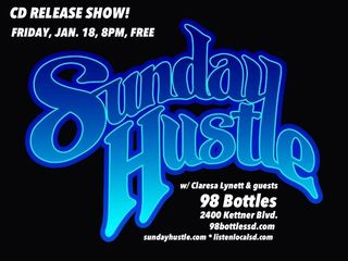 Sunday hustle poster