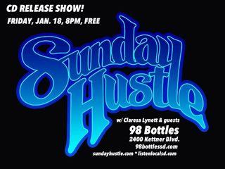Sunday hustle poster