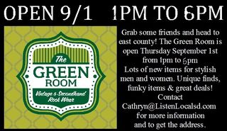 The green room 9 1 13