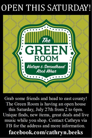 Green room open house 7 27 13