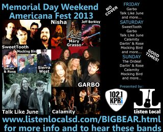 BIG BEAR MEMORIAL DAY POSTER