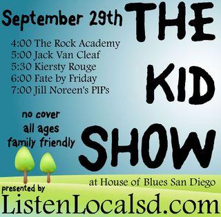 Kid show sept 2013