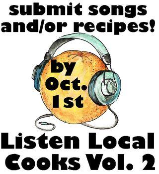 Cookbook vol 2 deadline