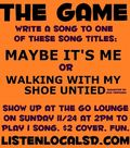 THE GAME 11 24 13