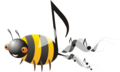 Bad buzz bug logo