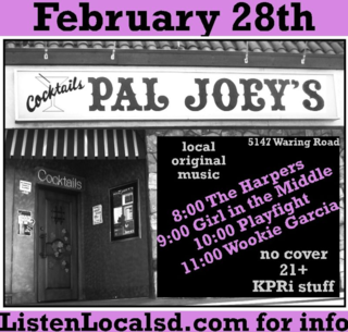 Pal joeys feb 28