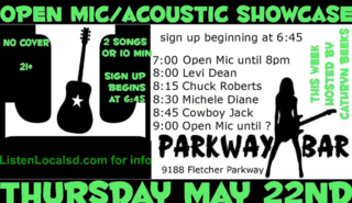 Parkway open mic may