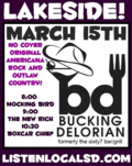 Bucking delorian march 15