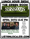 GREEN ROOM SESSION RICK ELLIOT