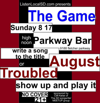 The game august 2014