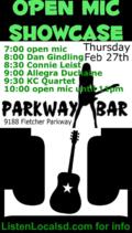 Parkway open mic