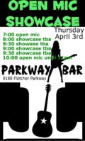 Parkway open mic 1