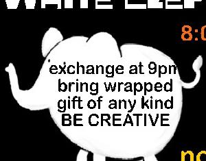 White elephant at go lounge