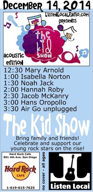 Kid show 12 14 14