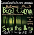 Band camp save the date