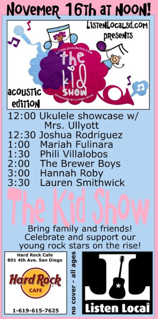 The kid show 11 16 14