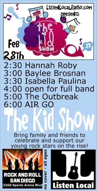 Kid show 2 28 15