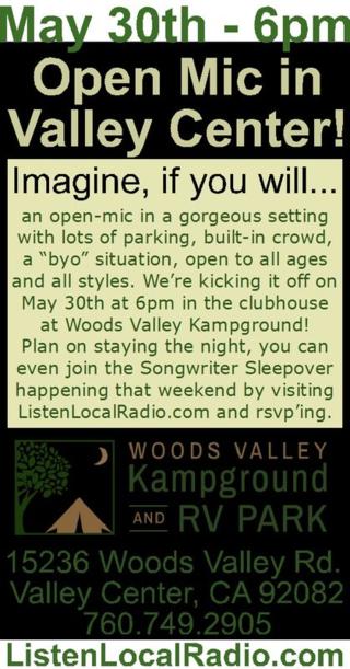 Open mic woods