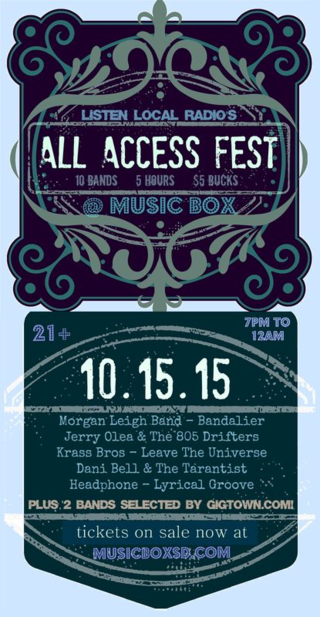 All access poster 10 15 15