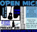 Open mic poster 9 25 14