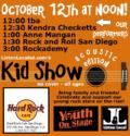 Acoustic kid show 10 12 14