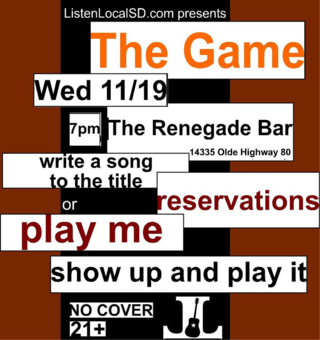 The game 11 19 14