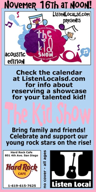 Kid show acoustic hard rock