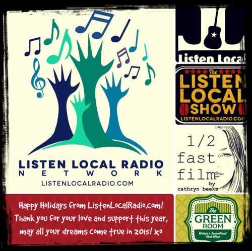 Listen local holiday card
