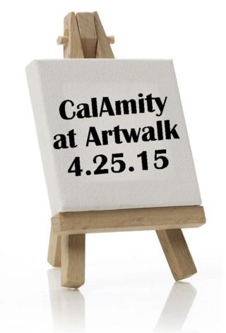Calamity at artwalk