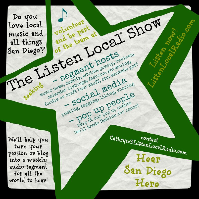Listen local volunteers